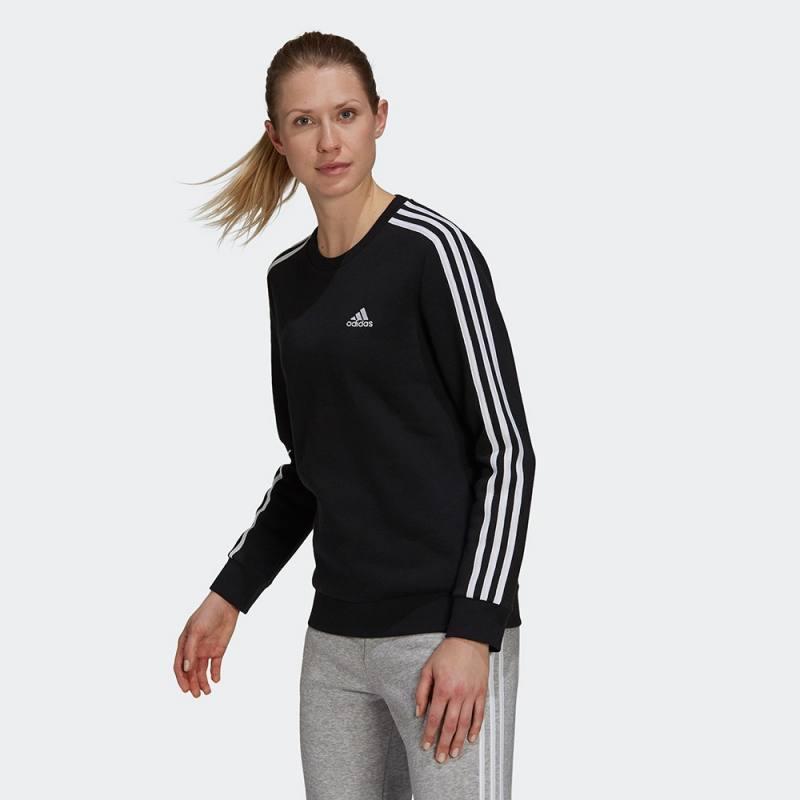 Adidas Essentials 3-Stripes Fleece Sweatshirt