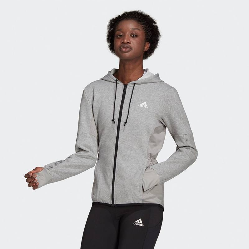 ADIDAS DESIGNED 2 MOVE COTTON TOUCH HOODIE