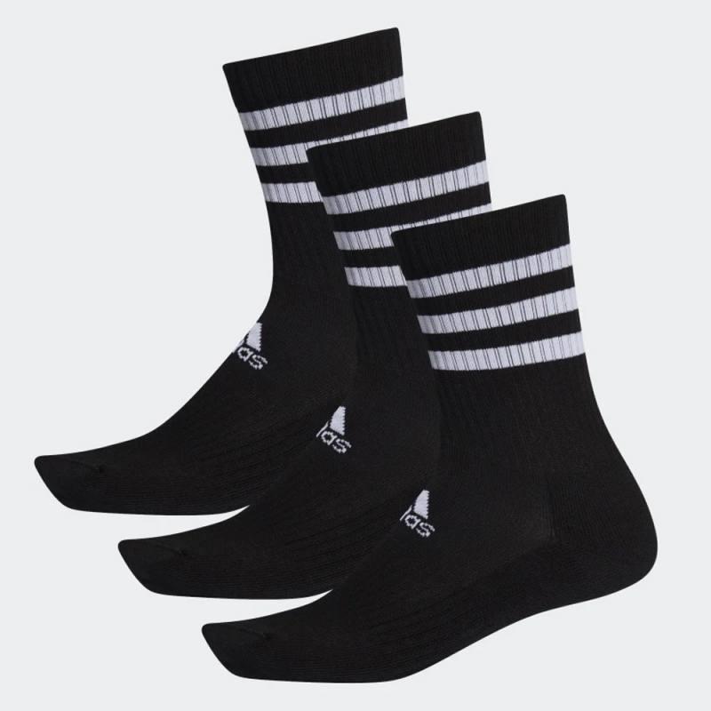 Adidas 3-Stripes Cushioned Crew Socks 3 Pairs