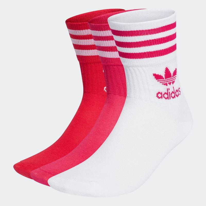 Adidas Mid Cut Crew Socks 3 Pairs