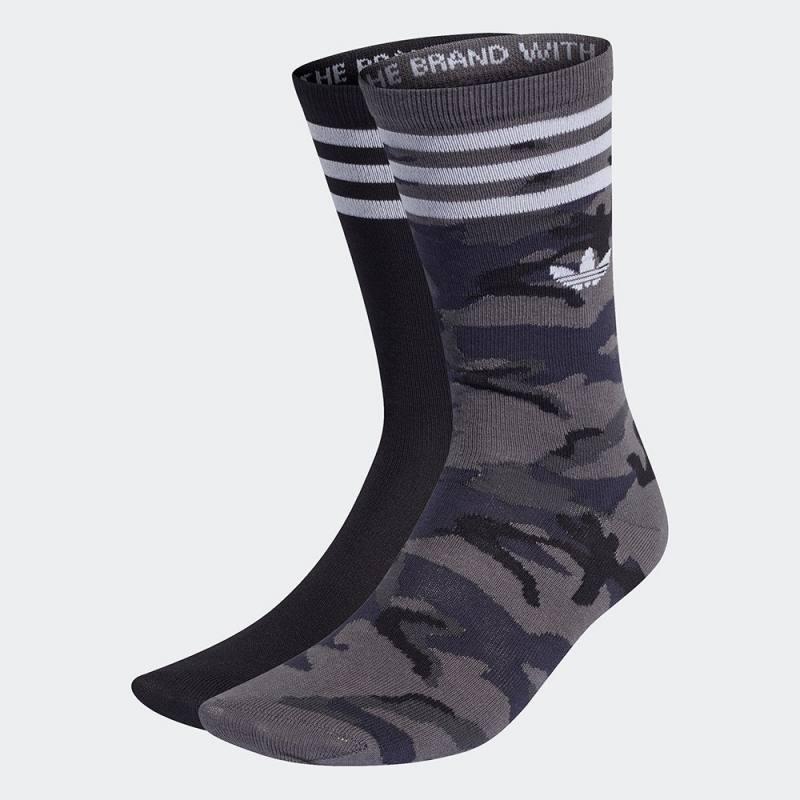 Adidas Camo Crew Socks 2 Pairs