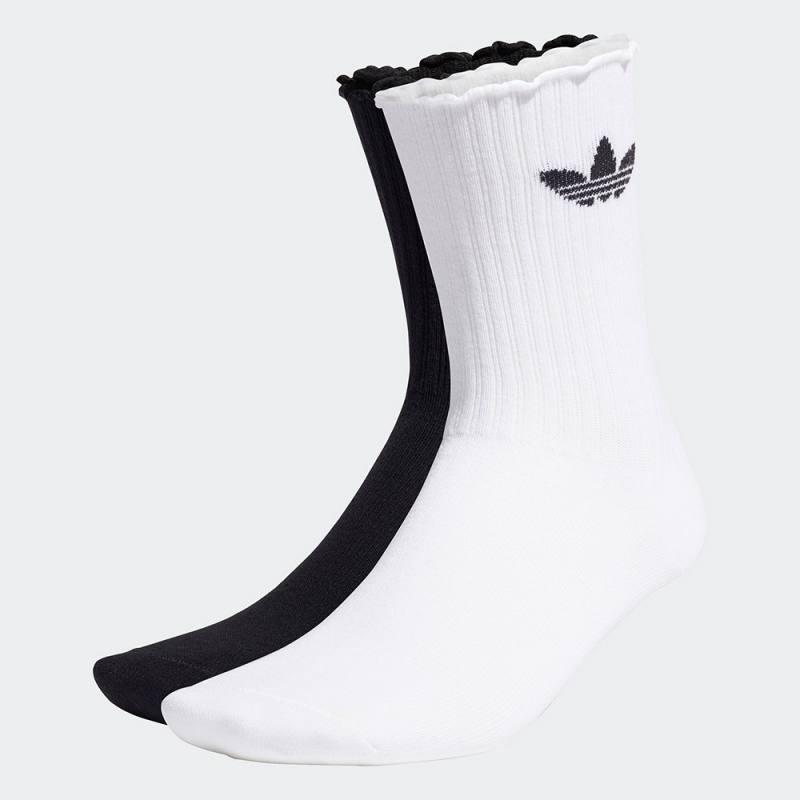 Adidas Ruffle Crew Socks 2 Pairs