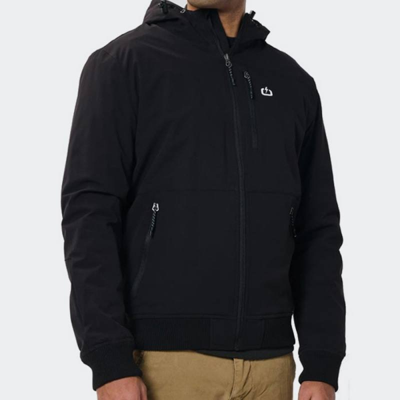 Emerson Ribbed Jacket with Hood