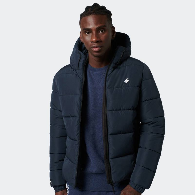 SUPERDRY HOODED SPORTS PUFFER