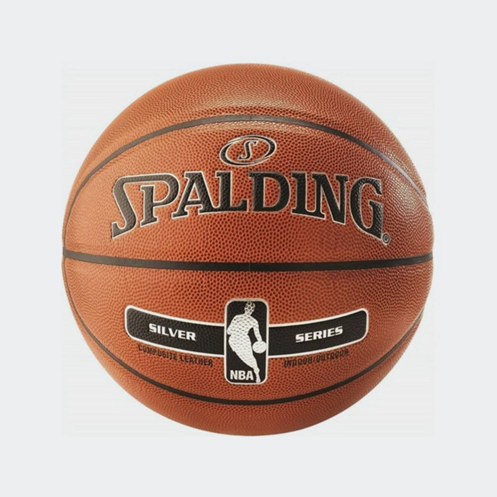 SPALDING NBA SILVER INDOOR/OUTDOOR