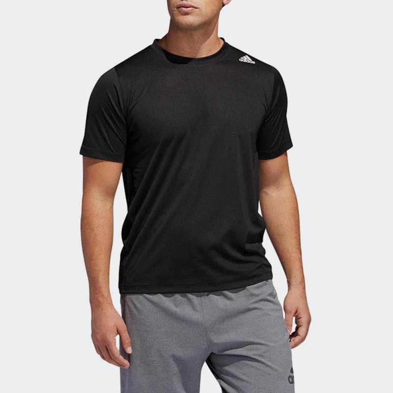 ADIDAS FREELIFT SPORT FITTED 3-STRIPES TEE