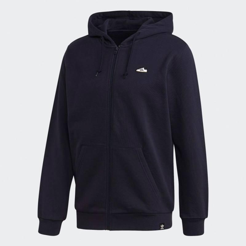 Adidas Embroidered Zip Hoodie Superstar