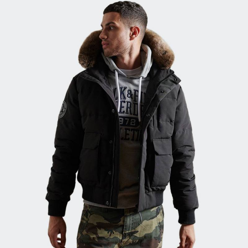 SUPERDRY EVEREST QUILTED BOMBER