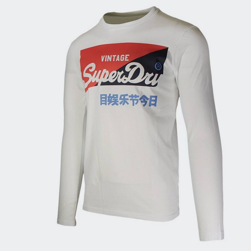 SUPERDRY VL O PRIMARY LS TOP