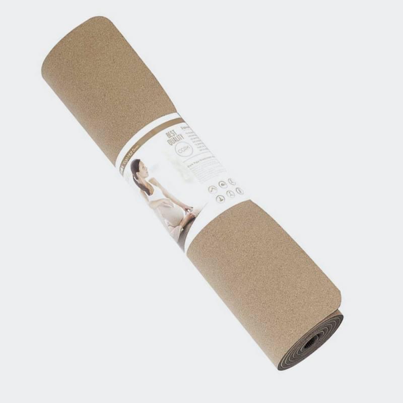 AMILA ΣΤΡΩΜΑ YOGA 6mm Cork
