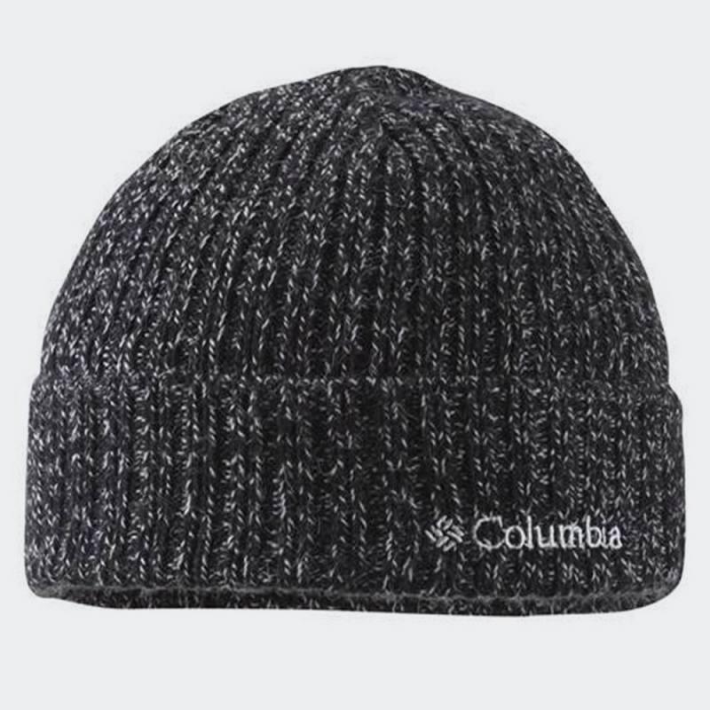 COLUMBIA WATCH CAP- BLACK/WHITE