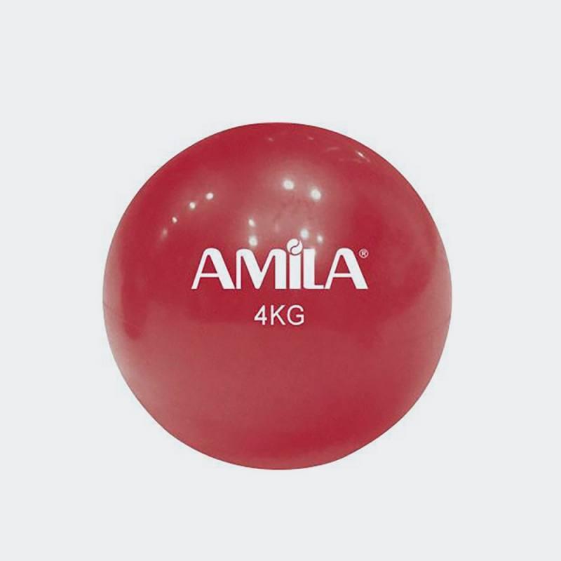 AMILA ΜΠΑΛΑ ΓΥΜΝΑΣΤΙΚΗΣ (TONING BALL) 4kg, 16cm