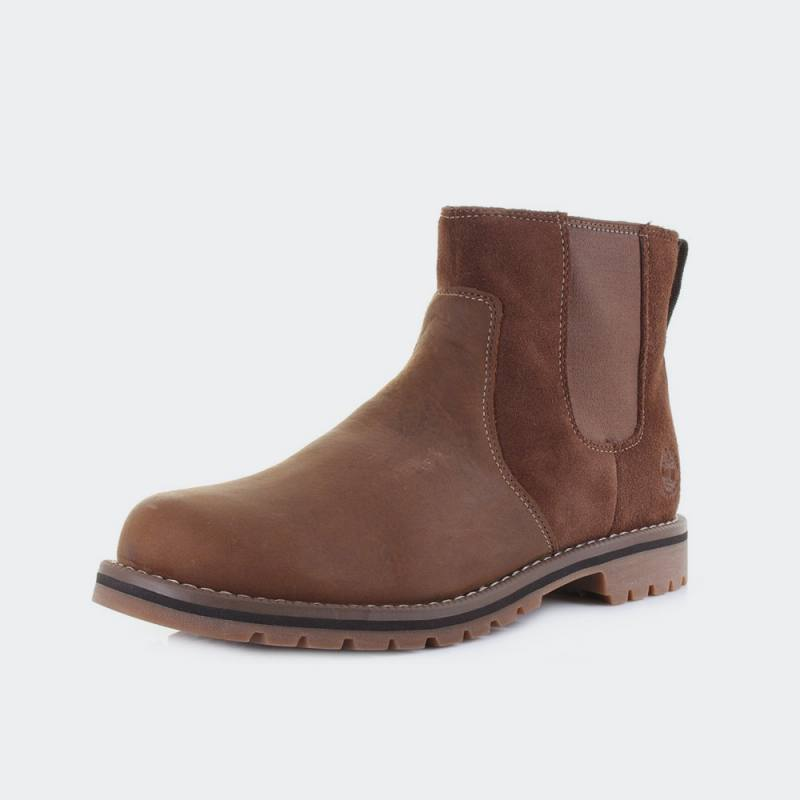 Timberland Larchmont Chelsea Leather Boots