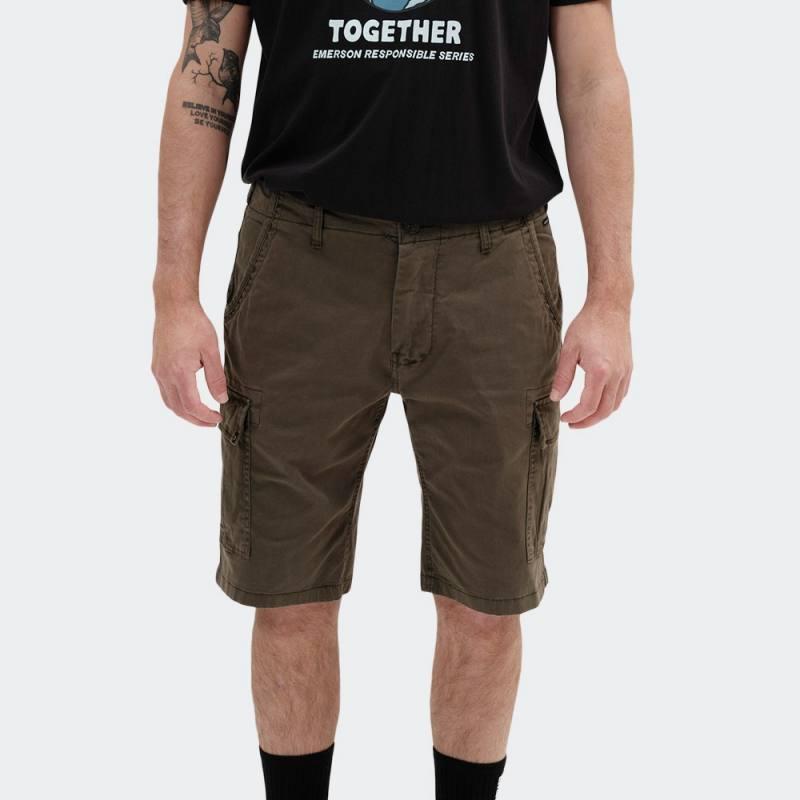 EMERSON Stretch Cargo Short Pants