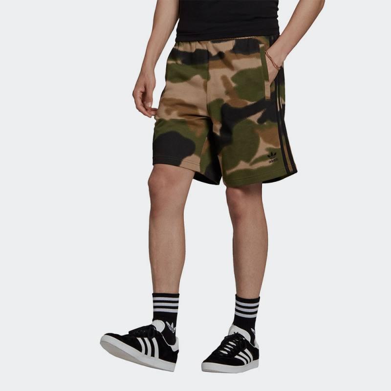 ADIDAS Camo 3-Stripes Shorts