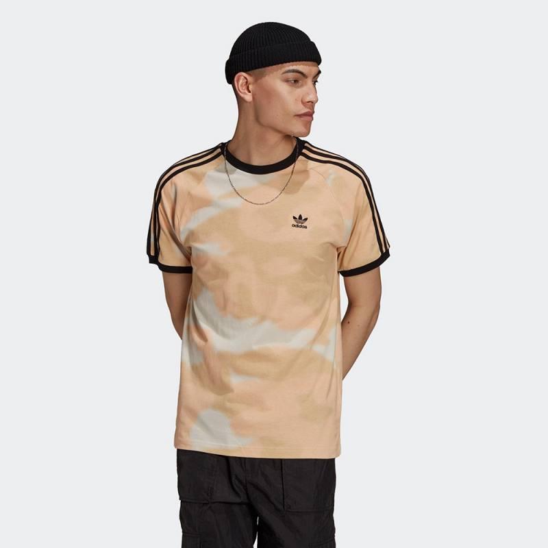 Adidas Camo Three Stripes Tee