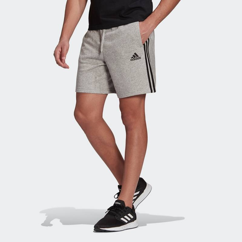 ADIDAS ESSENTIALS FRENCH TERRY 3-STRIPES SHORTS