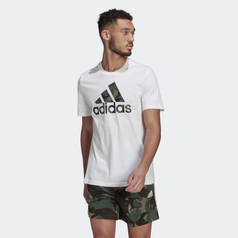 Adidas Essentials Camouflage Print Tee