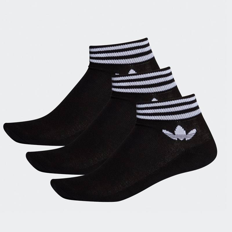 Adidas Trefoil Ankle Socks 3 Pairs