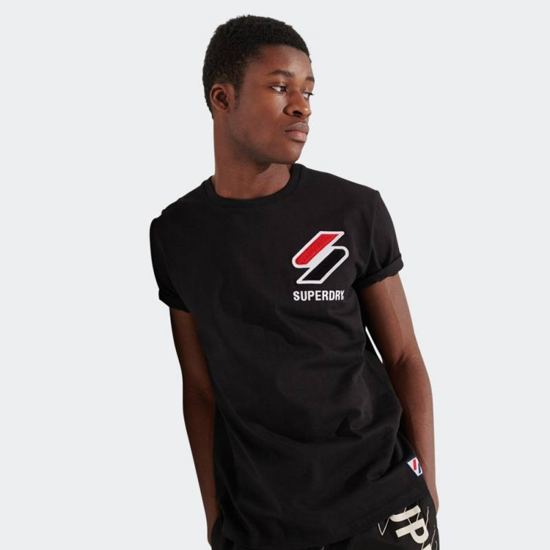 SUPERDRY SPORTSTYLE CHENILLE TEE