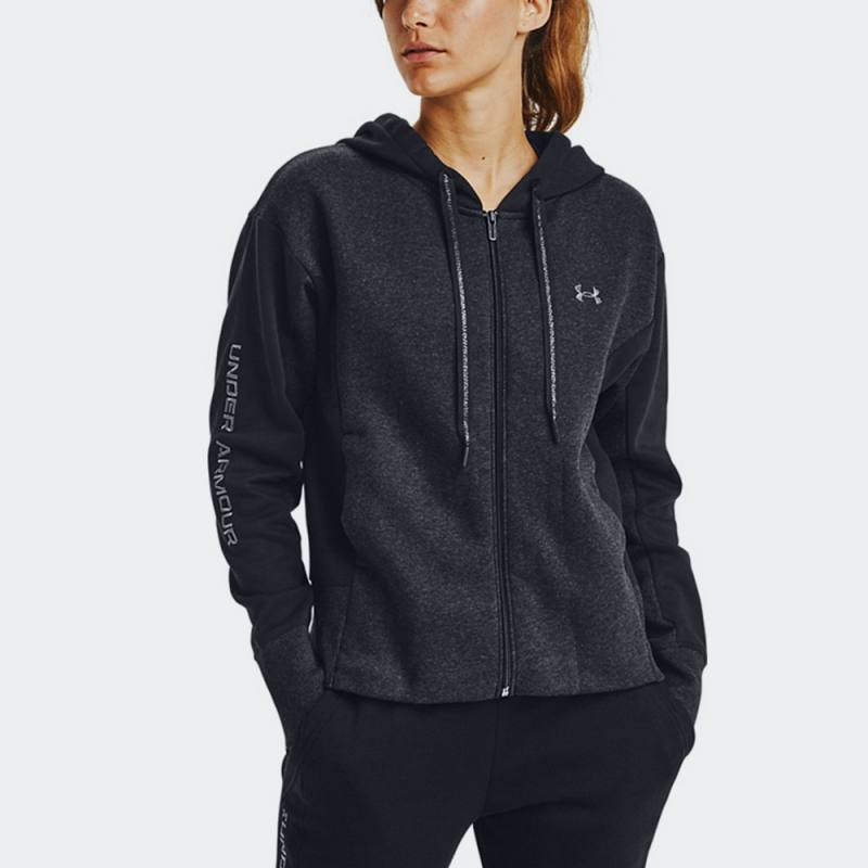 Under Armour Rival Fleece Embroidered Full Zip Hoodie