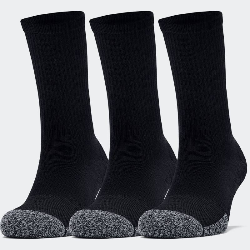 Under Armour Heatgear Crew Socks 3 Pairs