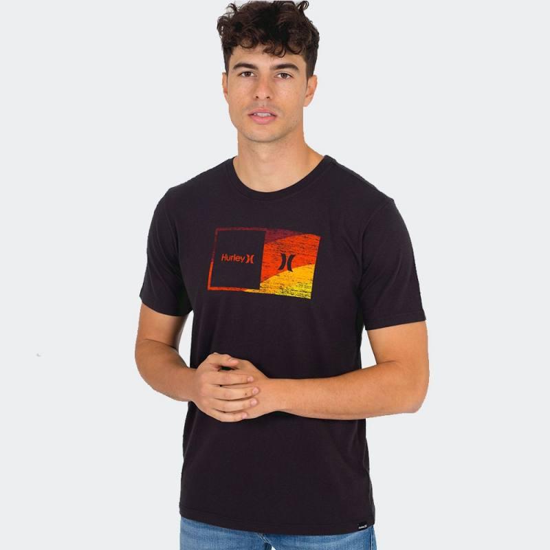 Hurley Washed Halfer Swamis Short Sleeve T-Shirt