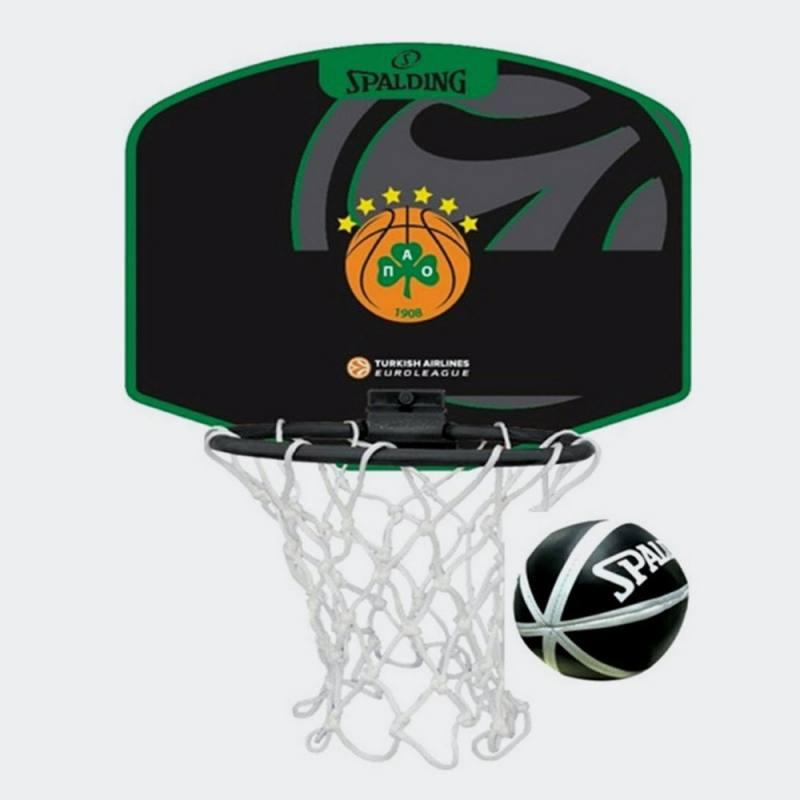 Spalding Euroleague Micro Mini BB Panathinaikos